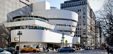 Guggenheim Museum, 5th Avenue, Manhattan, New York, NY