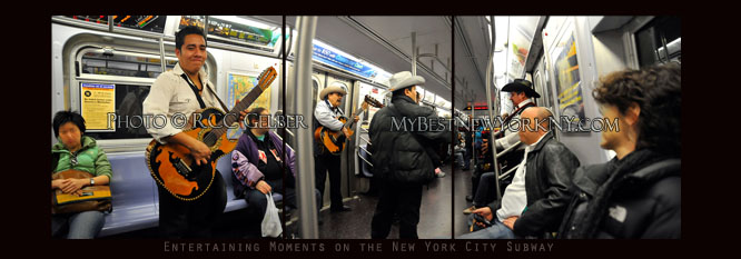 Musicians on the subway