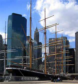 South Street Seaport Manhattan as it was before hurricane Sandy