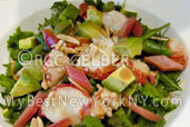 Lobster salad at Restaurant Rouge Tomate NYC